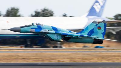 05 - Mikoyan-Gurevich MiG-29S Fulcrum C - Azerbaijan - Air Force