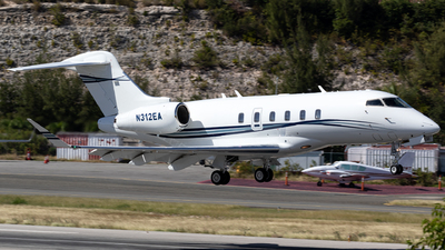N312EA - Bombardier BD-100-1A10 Challenger 350 - Private