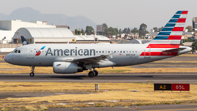 A picture of N803AW - Airbus A319132 - American Airlines - © Antonio Velasco Cruz