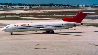 N727RW - Boeing 727-2M7(Adv) - Northwest Airlines