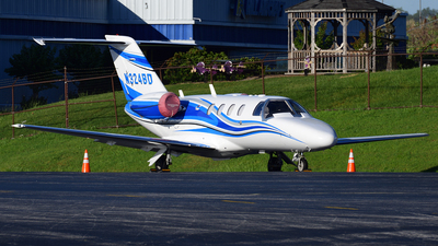 N324BD - Cessna 525 CitationJet 1 Plus - Private