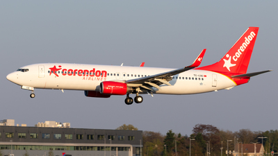 TC-COE - Boeing 737-86J - Corendon Airlines