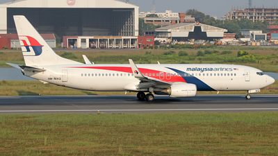 9M-MXQ - Boeing 737-8H6 - Malaysia Airlines