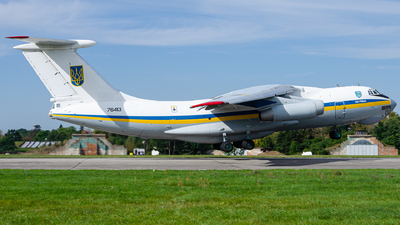 76413 - Ilyushin IL-76MD - Ukraine - Air Force
