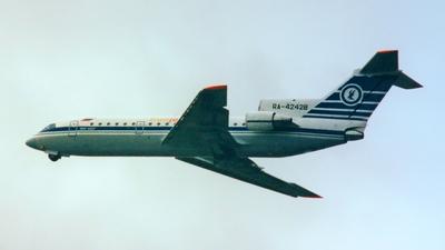 RA-42428 - Yakovlev Yak-42D - Polet Flight