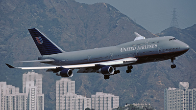 N192UA - Boeing 747-422 - United Airlines