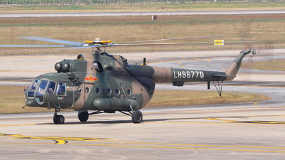 LH96770 - Mil Mi-171 C - China - Army