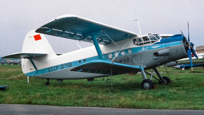 CCCP-07758 - Antonov An-2T - Aeroflot