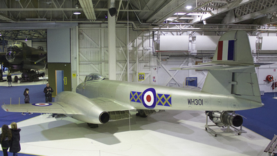 WH301 - Gloster Meteor F.8 - United Kingdom - Royal Air Force (RAF)