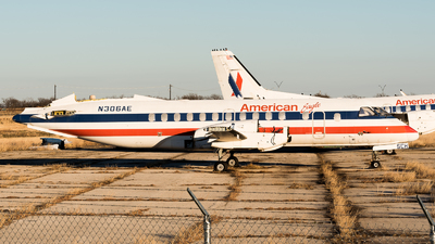 N306AE - Saab 340B - American Eagle