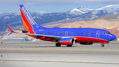 A picture of N269WN - Boeing 7377H4 - Southwest Airlines - © Michael Rodeback