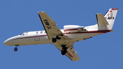 TC-MKA - Cessna 550B Citation Bravo - Bonair Business Charter