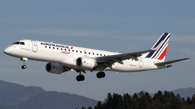 F-HBLM - Embraer 190-100STD - Air France HOP