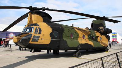 16-7461 - Boeing CH-47F Chinook - Turkey - Army