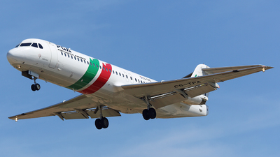 CS-TPA - Fokker 100 - PGA Portugália Airlines