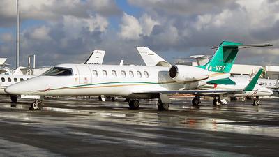 XA-VFV - Bombardier Learjet 40XR - Private