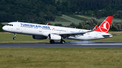 A picture of TCJSI - Airbus A321231 - Turkish Airlines - © Chris Jilli