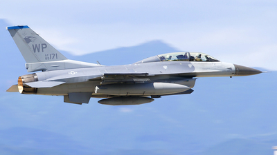 89-2171 - General Dynamics F-16D Fighting Falcon - United States - US Air Force (USAF)