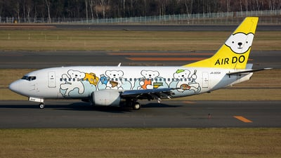 JA305K - Boeing 737-54K - Air Do (Hokkaido International Airlines)