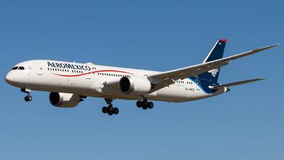 XA-MFG - Boeing 787-9 Dreamliner - Aeroméxico