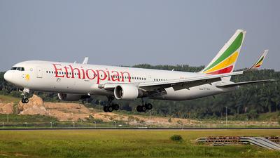 ET-ALJ - Boeing 767-360(ER) - Ethiopian Airlines