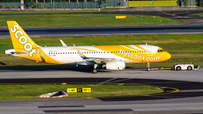 A picture of 9VTRN - Airbus A320232 - Scoot - © Wafi Ammar - sv.Jet