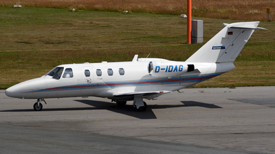 D-IDAG - Cessna 525 CitationJet 1 - Private