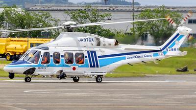 JA976A - Agusta-Westland AW-139 - Japan - Coast Guard