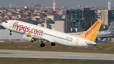 TC-AEP - Boeing 737-82R - Pegasus Airlines