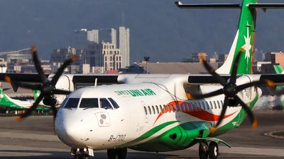 A picture of B17013 - ATR 72600 - UNI Air - © Jhang yao yun