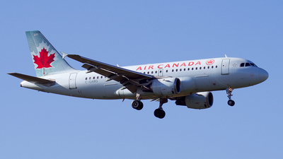 C-GARG - Airbus A319-114 - Air Canada