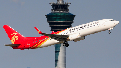 A picture of B5671 - Boeing 73787L - Shenzhen Airlines - © Jay Cheung
