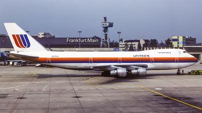 N4703U - Boeing 747-122 - United Airlines