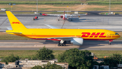 A picture of DAALO - Boeing 777F - DHL - © Sandeep Pilania