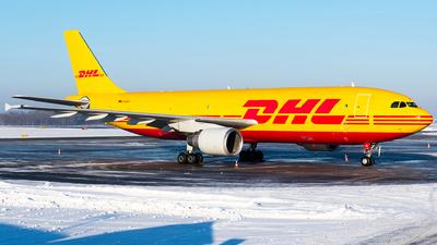 A picture of DAEAO - Airbus A300B4622R(F) - DHL - © Wojtek Raczynski