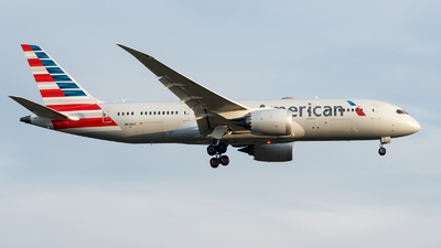 A picture of N806AA - Boeing 7878 Dreamliner - American Airlines - © TJDarmstadt