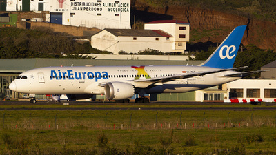 A picture of ECMLT - Boeing 7878 Dreamliner - Air Europa - © calco7