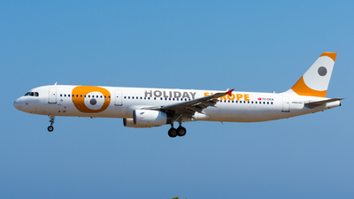 TC-OEA - Airbus A321-231 - Holiday Europe (Onur Air)