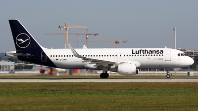 D-AIWG - Airbus A320-214 - Lufthansa