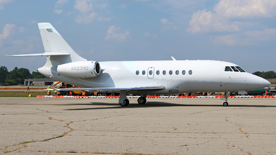 N623HD - Dassault Falcon 2000 - Private