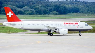 HB-IJB - Airbus A320-214 - Swissair