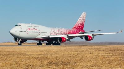 EI-XLM - Boeing 747-412 - Rossiya Airlines