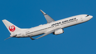 JA308J - Boeing 737-846 - Japan Airlines (JAL)