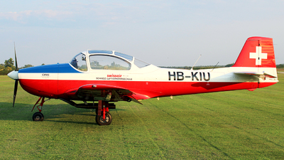 A picture of HBKIU - FockeWulf FWP149D - [175] - © Tibor Foldi