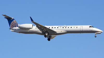 A picture of N12163 - Embraer ERJ145XR - United Airlines - © Xiamen Air 849 Heavy