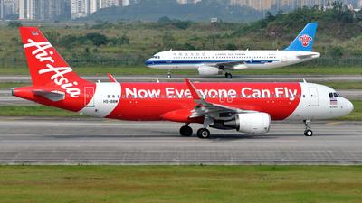 HS-BBM - Airbus A320-216 - Thai AirAsia