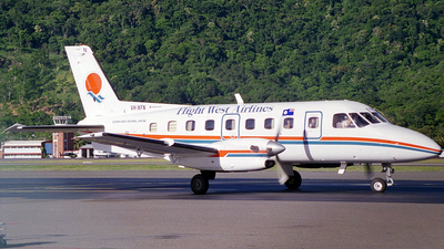 VH-XFN - Embraer EMB-110P1 Bandeirante - Flight West Airlines