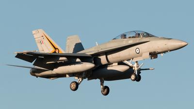 A21-113 - McDonnell Douglas F/A-18B Hornet - Australia - Royal Australian Air Force (RAAF)