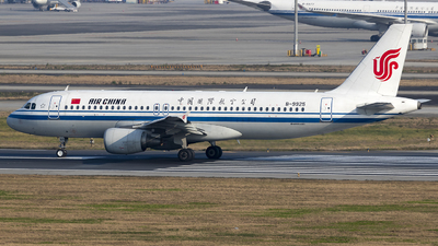 A picture of B9925 - Airbus A320214 - Air China - © yuanye
