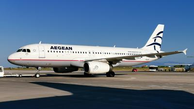 SX-DGB - Airbus A320-232 - Aegean Airlines
